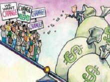 Phân hoá giàu nghèo đang bùng nổ tại Mỹ