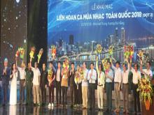Dàn sao hội tụ tại Liên hoan ca múa nhạc toàn quốc đợt 2