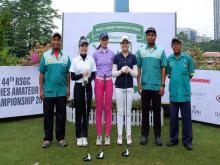 Ba VĐV nữ đoàn Việt Nam giành Á quân tại giải golf nghiệp dư hàng đầu Malaysia