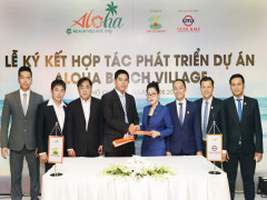 Việt Úc và Thiên Minh hợp tác phát triển dự án Aloha Beach Village