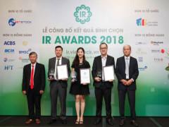 Công bố kết quả bình chọn doanh nghiệp có hoạt động IR tốt nhất