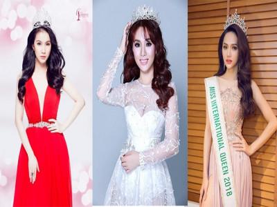 Điểm danh 3 nữ ca sĩ đăng quang hoa hậu của showbiz Việt