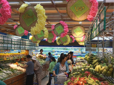 Hệ thống siêu thị đầu tiên của TPHCM đạt chứng nhận 'Chuỗi thực phẩm an toàn'