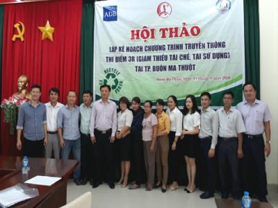 Thành phố Buôn Ma Thuột đẩy mạnh truyền thông về quản lý chất thải rắn