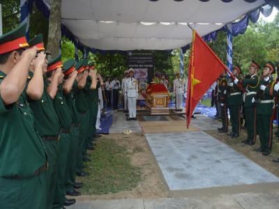 AHLL VTND, nhà tình báo Nguyễn Văn Thương đã về an nghỉ tại Hoa viên - Nghĩa trang Bình Dương