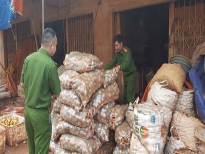 Khoai tây Trung Quốc trộn đất Đà Lạt