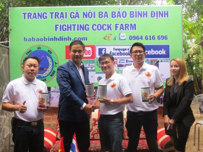 Ông chủ Thái Lan mang tin vui cho người nuôi gà