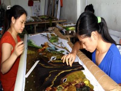 Sản phẩm làng nghề: Gặp khó vì thiếu thương hiệu