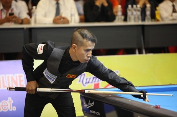 Trần Quyết Chiến vô địch giải Billiards Carom 3 băng quốc tế Bình Dương
