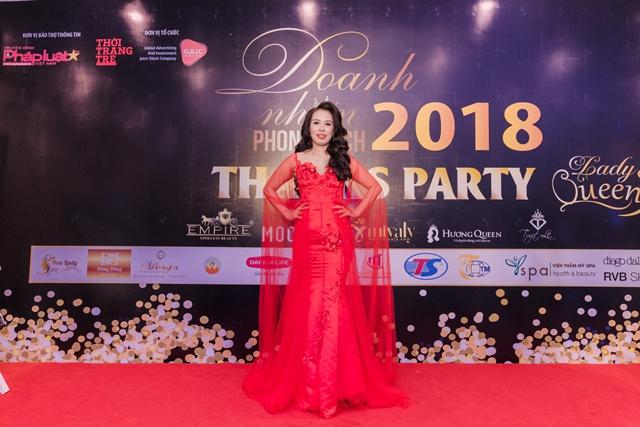 Nữ doanh nhân Lê Thị Minh Hoa  - Chủ tịch HĐQT Công ty CP Đầu tư XD&TM Thiên Sinh