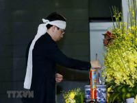 Những hình ảnh xúc động trong Quốc tang Chủ tịch nước Trần Đại Quang
