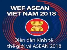 WEF ASEAN 2018: Hợp tác, phát triển và thịnh vượng của Cộng đồng ASEAN