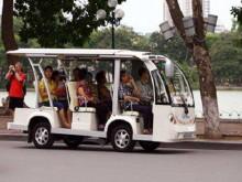 Thí điểm xe 4 bánh chạy điện, xăng phục vụ chở khách thăm quan, du lịch