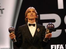 FIFA The Best 2018: Modric kết thúc