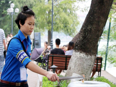 Đề xuất mở rộng không gian đi bộ hồ Hoàn Kiếm: Đảm bảo xanh - sạch - đẹp