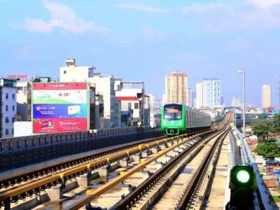 Tuyến đường sắt Cát Linh - Hà Đông sẽ chạy chính thức trước Tết Âm lịch