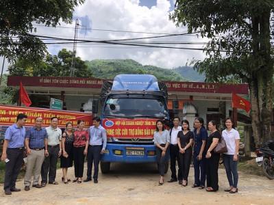 Hiệp hội Doanh nghiệp tỉnh Thanh Hóa chia sẻ khó khăn cùng đồng bào vùng lũ