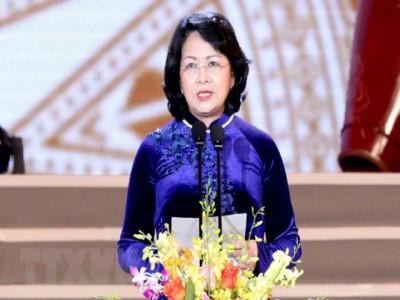 Bà Đặng Thị Ngọc Thịnh giữ chức quyền Chủ tịch nước