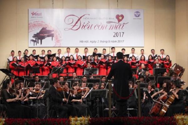 Nghệ sĩ Việt thăng hoa trong Hòa nhạc