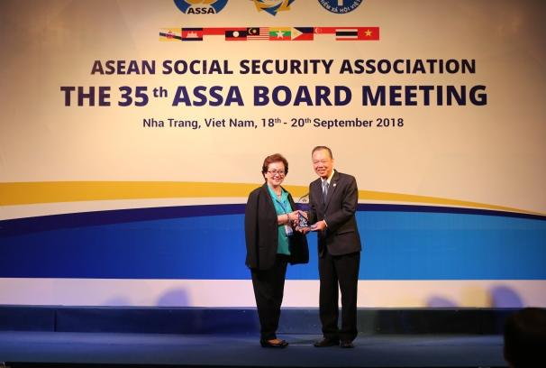 17 giải thưởng ASSA đã được trao tại Hội nghị Ban Chấp hành ASSA35