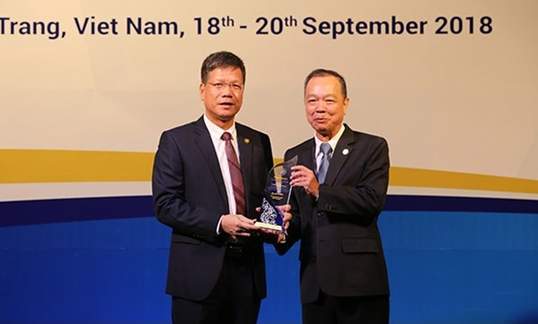BHXH Việt Nam nhận giải thưởng về CNTT tại Hội nghị ASSA 35