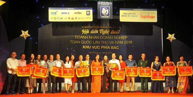 """Hà Giang đoạt giải Đặc biệt Hội diễn Nghệ thuật """"Doanh nhân – Doanh nghiệp toàn quốc"""" lần VIII"""