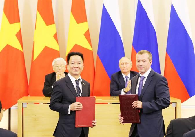 Tập đoàn T&T Group ký kết biên bản ghi nhớ với ba đối tác lớn tại Nga