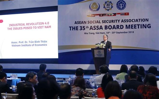 Cơ hội và thách thức của các hệ thống ASXH khu vực ASEAN trong bối cảnh CMCN 4.0
