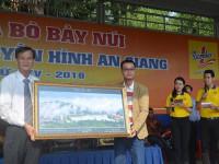 Tập đoàn Tân Hiệp Phát tài trợ chính cho Hội đua bò Bảy Núi