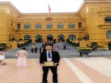 Chủ tịch Tập đoàn VSETGROUP nhận Kỷ niệm chương doanh nhân tiêu biểu