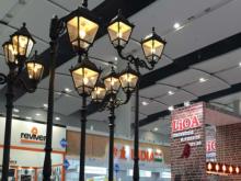 Cột đèn ngoài trời LIOA: Tinh tế, an toàn và thân thiện môi trường