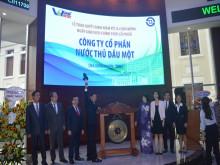 Công ty cổ phần Nước Thủ Dầu Một: Niêm yết trên Sàn giao dịch chứng khoán Thành phố Hồ Chí Minh