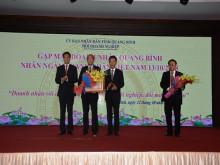 Quảng Bình: Gặp mặt các doanh nghiệp, doanh nhân nhân kỷ niệm ngày Doanh nhân Việt Nam