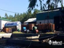 Thanh Hóa: Đột nhập xưởng tái chế dầu nhờn thải nằm sâu trong núi