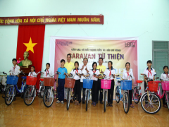 """""""Caravan từ thiện & Xúc tiến đầu tư"""" tại tỉnh Đồng Nai"""