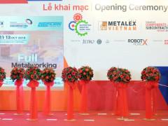 Khai mạc triển lãm Metalex Vietnam 2018