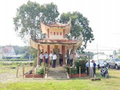 Công ty CP Đầu tư xây dựng Chánh Phú Hòa tài trợ  xây dựng Khu di tích Tượng đài chiến thắng