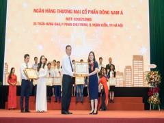 Seabank nhận bằng khen của Bộ Tài chính về công tác kê khai, nộp thuế năm 2017