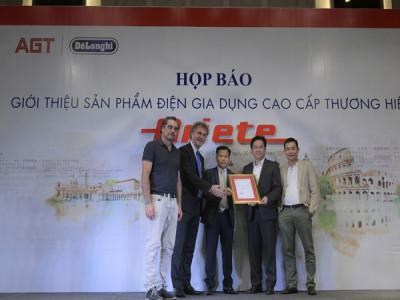 An Gia Tiến - Nhà phân phối độc quyền của thương hiệu Ariete tại Việt Nam