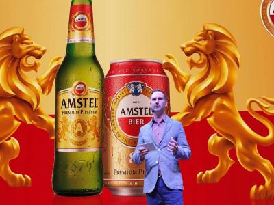 Amstel - nhãn hiệu bia cao cấp đến từ Châu Âu đã có mặt Việt Nam