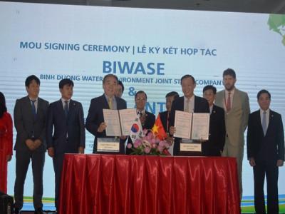 Ký kết hợp tác chuyển giao công nghệ xử lý môi trường giữa Biwase và Eplant