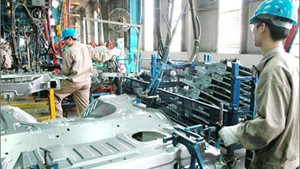 Sản xuất công nghiệp 10 tháng tăng 10,4% so với năm 2017