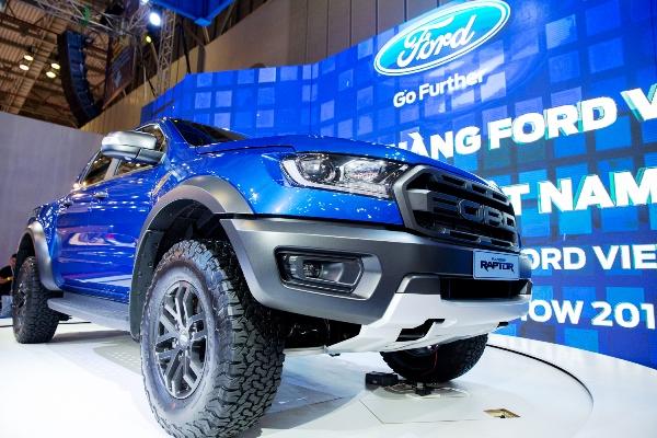 """"""" Siêu bán tải"""" Ford Ranger Raptor xuất hiện tại VMS 2018"""