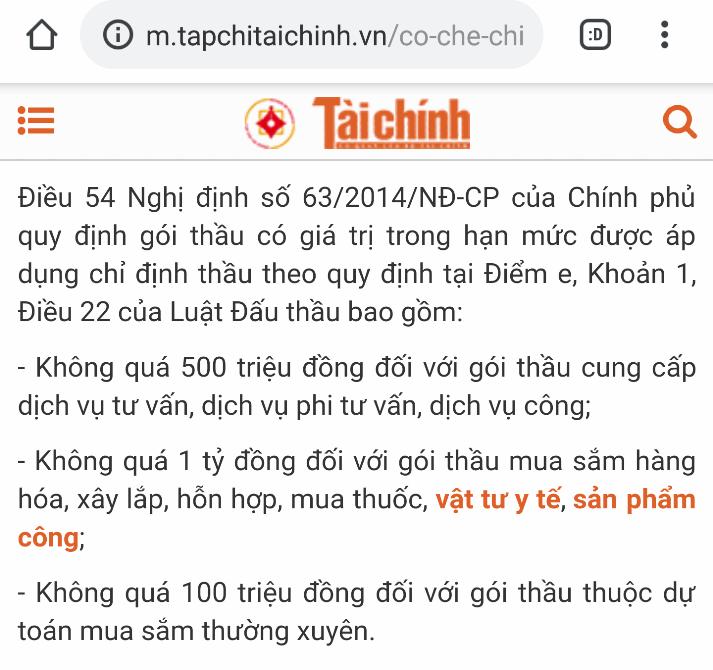 """Chủ tịch UBND tỉnh Thanh Hóa chỉ định thầu dự án 4.193 tỷ đồng """"trái"""" với Nghị định Chính phủ?"""