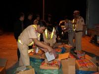 Công an tỉnh Lào Cai: Bắt giữ vụ vận chuyển 393kg pháo hoa.