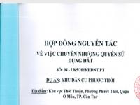 """Dự án Khu dân cư phường Phước Thới: UBND TP. Cần Thơ phê duyệt cho """"Công ty ma"""" làm chủ đầu tư?"""
