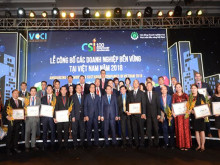 Công bố 100 doanh nghiệp bền vững năm 2018