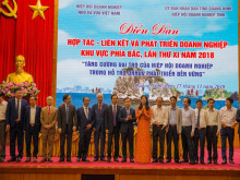 Diễn đàn hợp tác - liên kết và phát triển doanh nghiệp khu vực phía Bắc lần thứ XI năm 2018