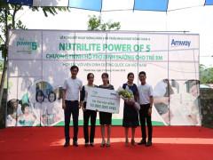 Amway Việt Nam: Lần thứ 4 thực hiện chiến dịch giảm tỉ lệ trẻ suy dinh dưỡng