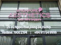 Phòng khám nha khoa Singapore Aesthetics: Tư vấn, thăm khám khi chưa có giấy phép hoạt động?